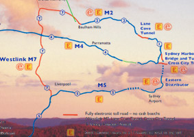 View a map detailing the Inbound Connections to the Greater Blue Mountains Area